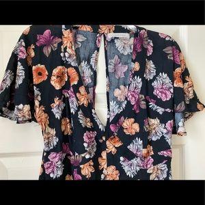 Nasty Gal flower dress
